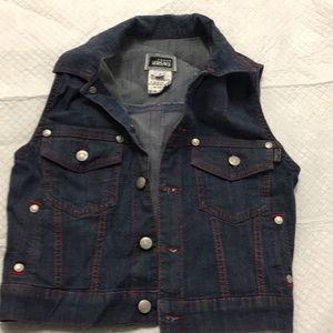 Young Versace denim jacket